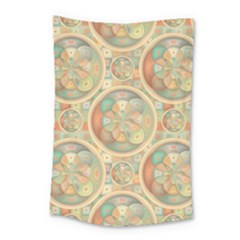 Complex Geometric Pattern Small Tapestry by linceazul