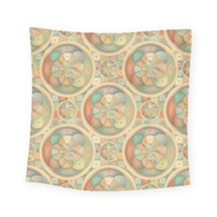Complex Geometric Pattern Square Tapestry (small) by linceazul