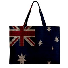 Vintage Australian Flag Zipper Mini Tote Bag by ValentinaDesign