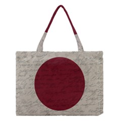 Vintage Flag   Japan Medium Tote Bag by ValentinaDesign