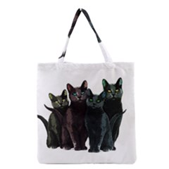 Cats Grocery Tote Bag by Valentinaart