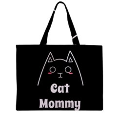Love My Cat Mommy Medium Tote Bag by Catifornia