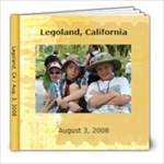Legoland - 8x8 Photo Book (30 pages)
