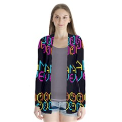 Game Face Mask Sign Cardigans by Mariart