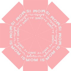 Home Love Mom Sexy Pink Straight Umbrellas by Mariart