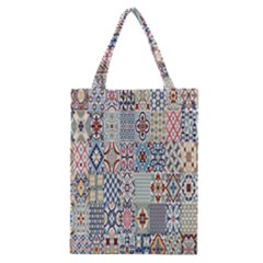 Deco Heritage Mix Classic Tote Bag by Mariart