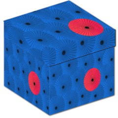Pink Umbrella Red Blue Storage Stool 12   by Mariart