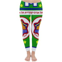 Tel Aviv Coat Of Arms  Classic Winter Leggings by abbeyz71
