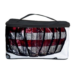 Usa Bowling  Cosmetic Storage Case by Valentinaart