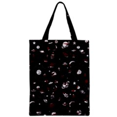 Space Pattern Zipper Classic Tote Bag by Valentinaart
