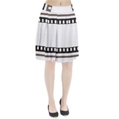 Frame Decorative Movie Cinema Pleated Skirt