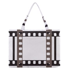 Frame Decorative Movie Cinema Medium Zipper Tote Bag