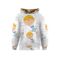 Angel Baby Bottle Cute Sweet Kids  Pullover Hoodie