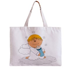 Angel Baby Bottle Cute Sweet Zipper Mini Tote Bag by Nexatart
