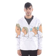 Sweet Dreams Angel Baby Cartoon Hooded Wind Breaker (men)