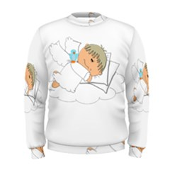 Sweet Dreams Angel Baby Cartoon Men s Sweatshirt