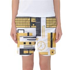 Web Design Mockup Web Developer Women s Basketball Shorts