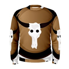 Logo The Cow Animals Men s Sweatshirt