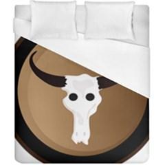 Logo The Cow Animals Duvet Cover (california King Size)