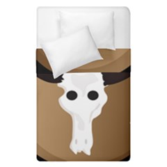 Logo The Cow Animals Duvet Cover Double Side (single Size) by Nexatart
