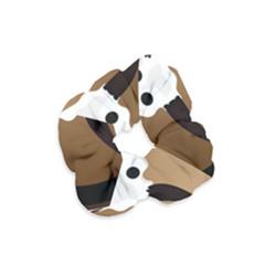 Logo The Cow Animals Velvet Scrunchie