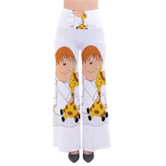 Pet Giraffe Angel Cute Boy Pants by Nexatart