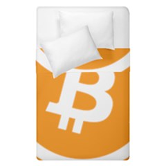Bitcoin Cryptocurrency Currency Duvet Cover Double Side (single Size)
