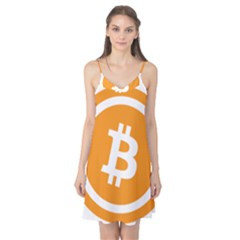 Bitcoin Cryptocurrency Currency Camis Nightgown