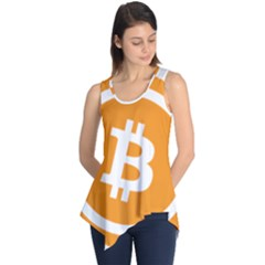 Bitcoin Cryptocurrency Currency Sleeveless Tunic