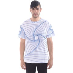 Spirograph Pattern Drawing Design Men s Sport Mesh Tee