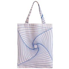 Spirograph Pattern Drawing Design Zipper Classic Tote Bag