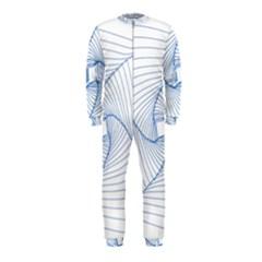 Spirograph Pattern Drawing Design Onepiece Jumpsuit (kids)