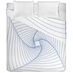 Spirograph Pattern Drawing Design Duvet Cover Double Side (california King Size) by Nexatart