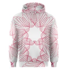 Spirograph Pattern Drawing Design Men s Pullover Hoodie