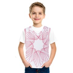 Spirograph Pattern Drawing Design Kids  Sportswear