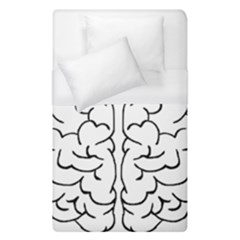 Brain Mind Gray Matter Thought Duvet Cover (single Size) by Nexatart