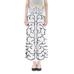 Brain Mind Gray Matter Thought Maxi Skirts