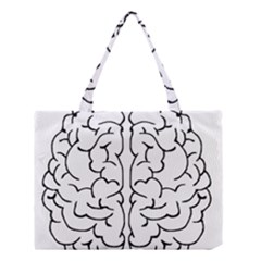 Brain Mind Gray Matter Thought Medium Tote Bag