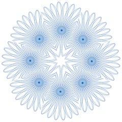 Spirograph Pattern Circle Design Folding Umbrellas