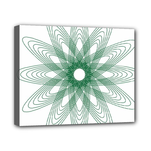 Spirograph Pattern Circle Design Canvas 10  X 8  by Nexatart