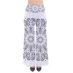 Art Coloring Flower Page Book Pants