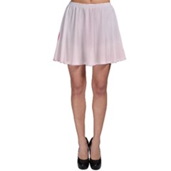 Background Image Greeting Card Heart Skater Skirt