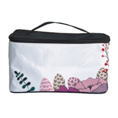Flowers Twig Corolla Wreath Lease Cosmetic Storage Case by Nexatart