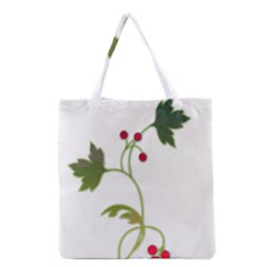 Element Tag Green Nature Grocery Tote Bag by Nexatart
