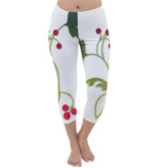 Element Tag Green Nature Capri Winter Leggings