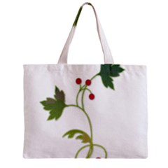 Element Tag Green Nature Zipper Mini Tote Bag by Nexatart