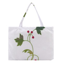 Element Tag Green Nature Medium Tote Bag by Nexatart