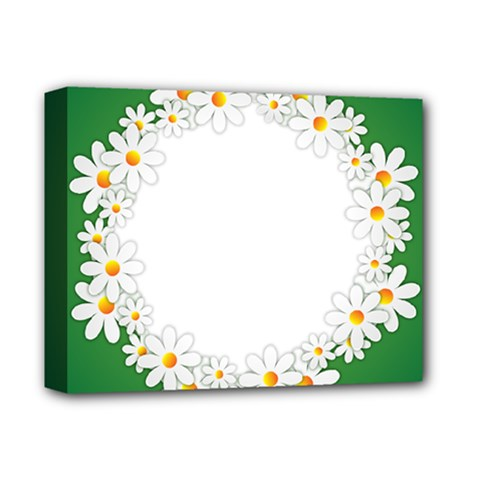 Photo Frame Love Holiday Deluxe Canvas 14  X 11  by Nexatart