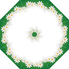 Photo Frame Love Holiday Golf Umbrellas by Nexatart