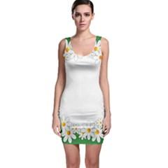 Photo Frame Love Holiday Sleeveless Bodycon Dress